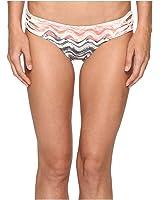 Becca by Rebecca Virtue Women's Cosmic Tab Side Hipster Bikini Bottom