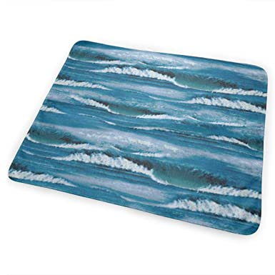Amazon.com: Baby Portable Changing Pad, Waves Surf Ocean ...