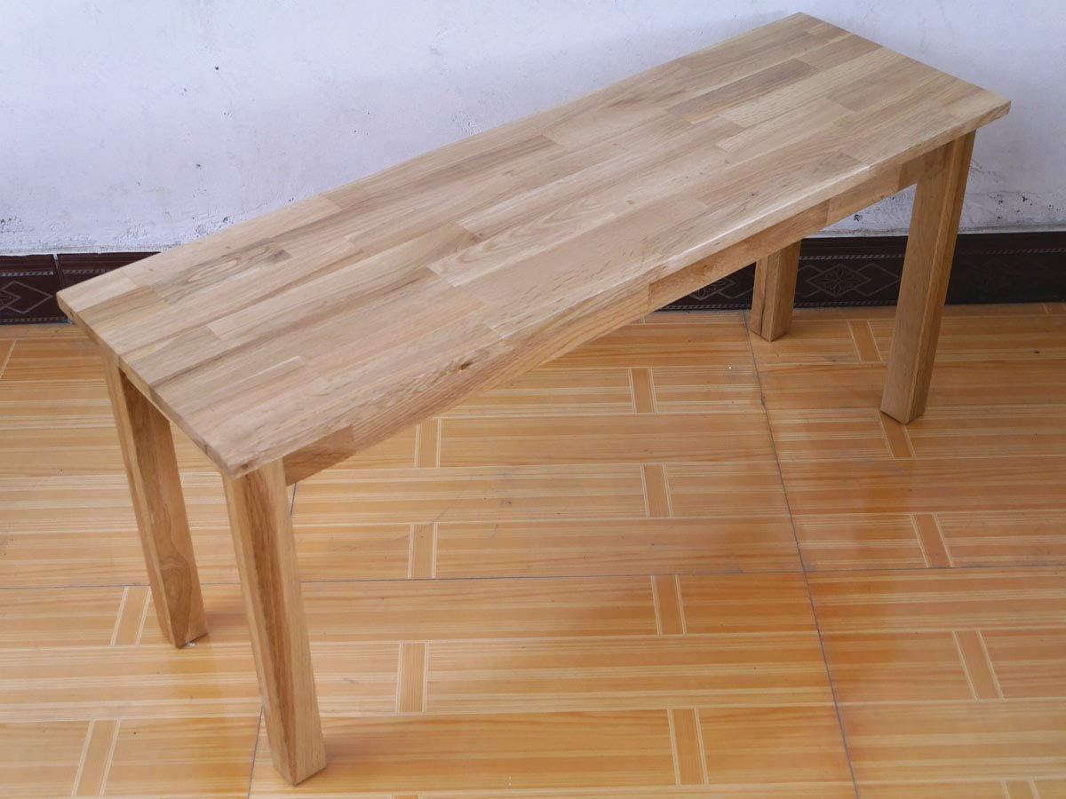 OAK Furniture Rongyuan Bar Table Dining Table for Living Room Kitchen Dining Room Rectangular Pub Table Retro Design 100 45cm 32
