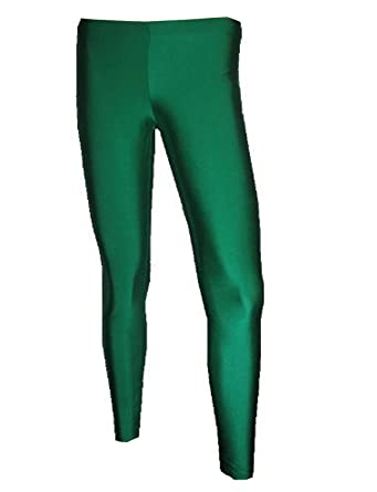 28b54bd016a0a Insanity Womens Dark Green Lycra Leggings at Amazon Women's Clothing ...