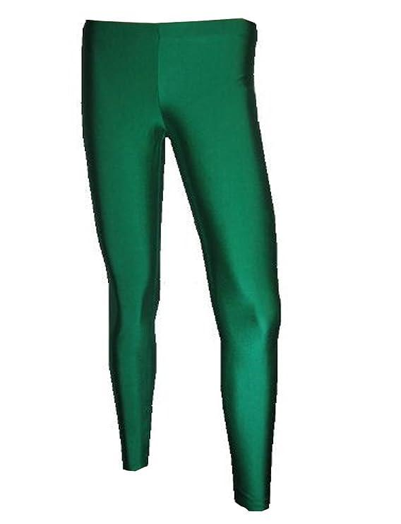 c47c0801d6b97 Insanity Womens Dark Green Lycra Leggings at Amazon Women's Clothing store: