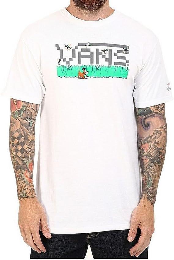 Camiseta Vans – Nintendo Duck Hunt blanco talla: L (Large): Amazon.es: Ropa y accesorios