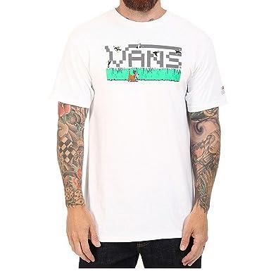 5abb486304bc5d Vans Mens Nintendo Duck Hunt T-Shirt White Size 5  Amazon.co.uk  Clothing