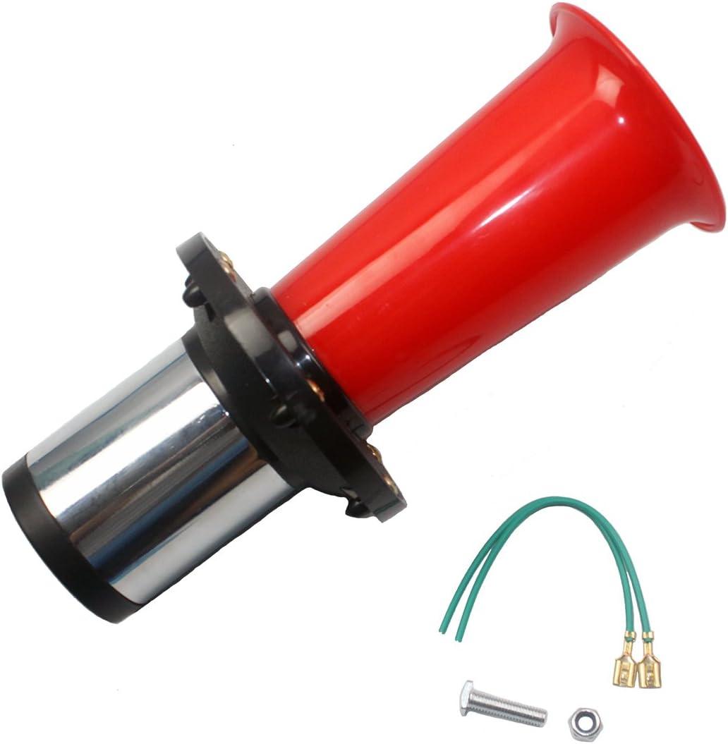 NEW BRAND NEW KLAXON CAR AIR HORN CLASSIC VINTAGE SOUND FOG HORN, 12v