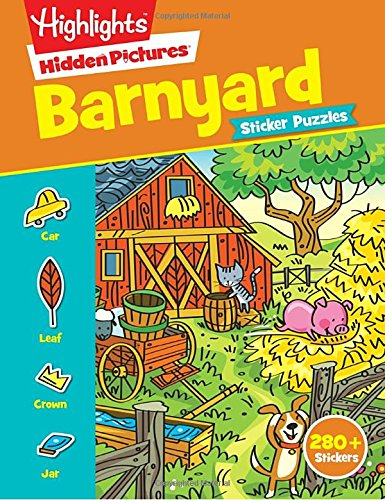 Barnyard Puzzles (Highlights(TM) Sticker Hidden Pictures®)