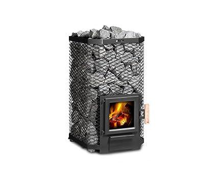 Fintec estufa para sauna de Madera calentado 9 KW Arthur madera 2, nivel blmschv con