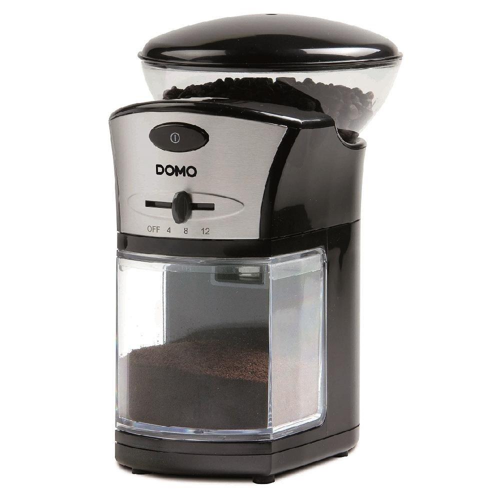 Elektrische Kaffeemühle, 9 Mahlgradeinstellungen, konisches Mahlwerk Elektrische Kaffeemühle