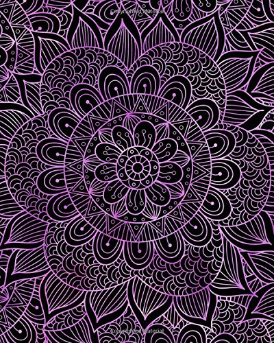 Journal Notebook Mandala Pattern 9: 172 Page Blank Journal 8 x 10 Size, Unlined For Journaling, Writing, Planning or Doodling. (Artsy Plain Journals ) (Volume 92) pdf epub