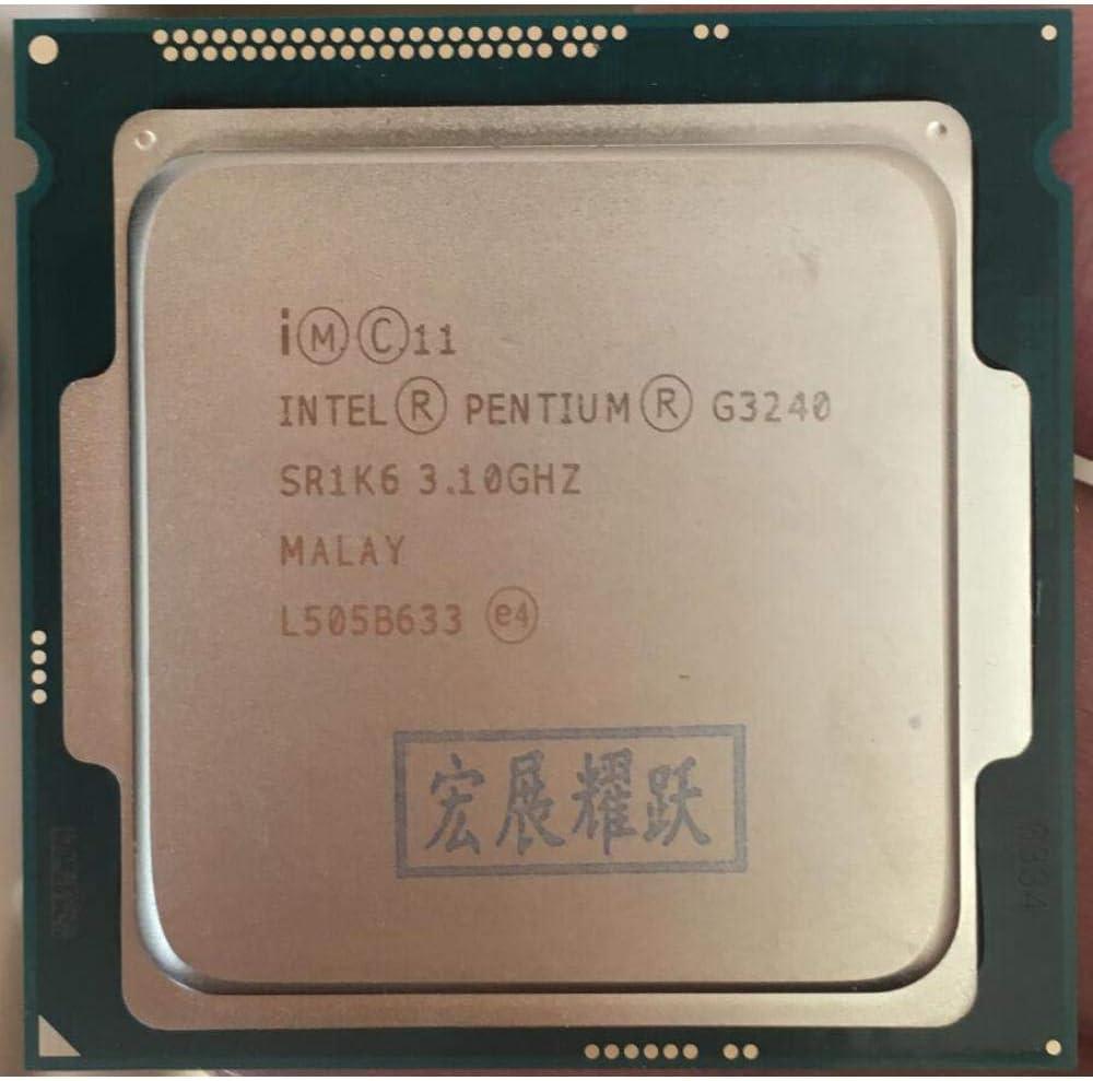 Intel Processor Processor G3240 LGA1150 22 Nanometers Dual-Core 100/% Working Properly Desktop Processor