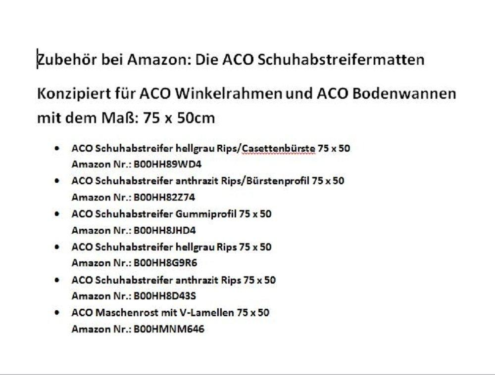 Aco Bodenwanne 75 X 50cm Mit Stahlzarge Amazon De Baumarkt