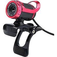 Festnight USB 2.0 50 Megapixel HD Camera Web Cam 360 Degree with MIC Clip-on for Desktop Skype Computer PC Laptop