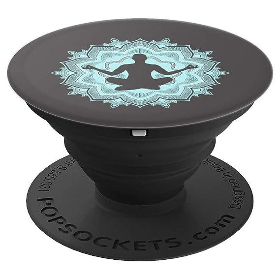 Amazon.com: Spiritual Yoga Buddah Symbol India Phone Grip ...
