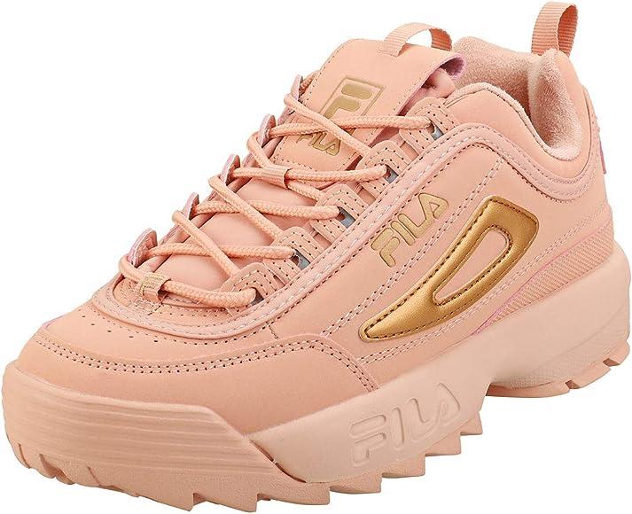 Fila Disruptor II Rose Mujer Rosa Zapatillas-UK 5 / EU 38.5 ...