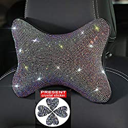 Bling Crystal Neck Rest Pillow
