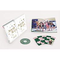 トワイス - Merry & Happy MONOGRAPH 150p Photobook+1 DVD+9 Photocard [KPOP MARKET特典: 追加特典フォトカードセット] [韓国盤]