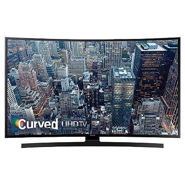Samsung UN55JU6700F 4K 120Hz 55  Curved Smart LED TV, Black (Certified Refurbished)