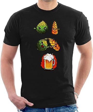 Beer Fusion - Camiseta para hombre