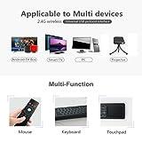 Mini Wireless Keyboard, Wechip Air Remote Control