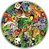Round Table Puzzle - Wild Animals (500 Piece)
