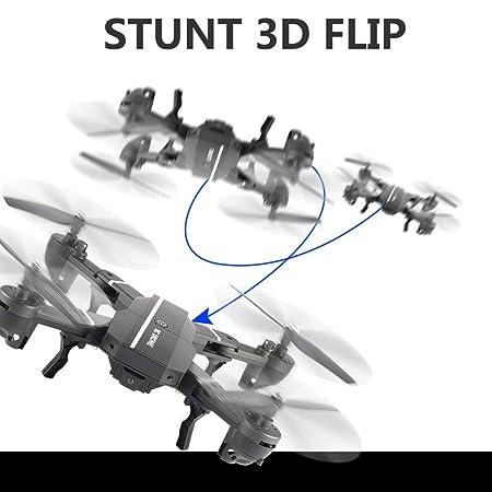 Amazon.es: Funnyrunstore 8807W 2.4G FPV Drone Plegable Smart RC ...