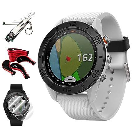 Amazon.com: Garmin Approach 010-01702-01 - Reloj de golf con ...