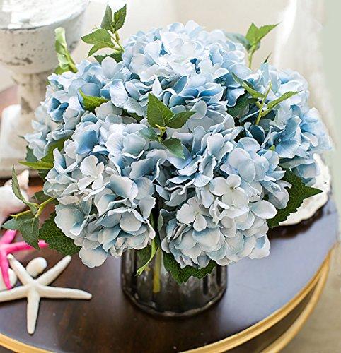 Buy silk hydrangea blue