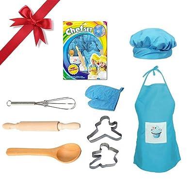 Baiansy - Juego Completo de Cocina y horneado para niños: Hogar