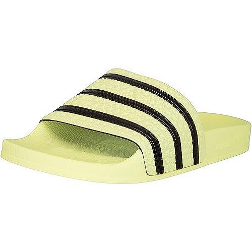 adidas Adilette Women Badelatschen (37 EU, YellowBlack