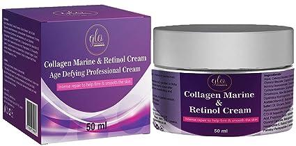 Colágeno marino y retinol crema
