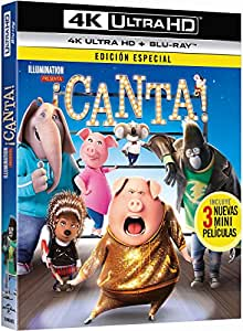 ¡Canta! (4K Ultra HD) [Blu-ray]