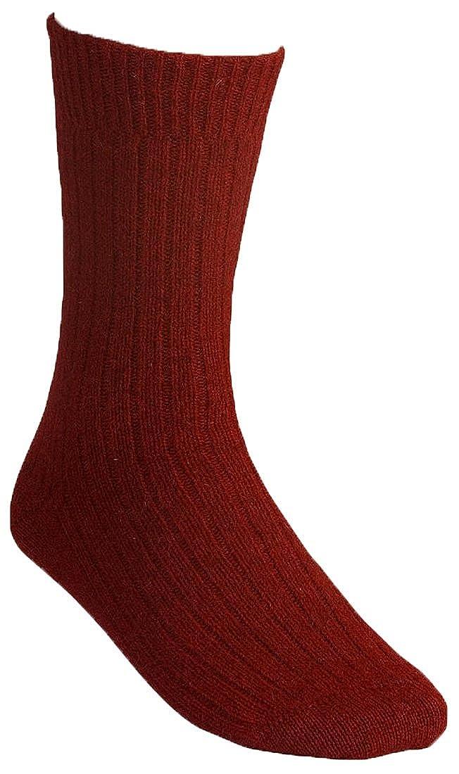 New Zealand Wool//Brushtail Possum blend Rib Socks