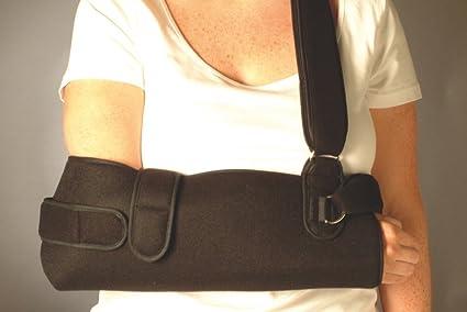 Deluxe Cabestrillo para brazo y inmovilizador para hombro (talla única)  disponible en negro o 72834b257e33