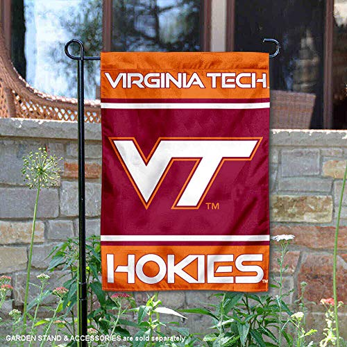 - College Flags and Banners Co. VA Tech Hokies Garden Flag