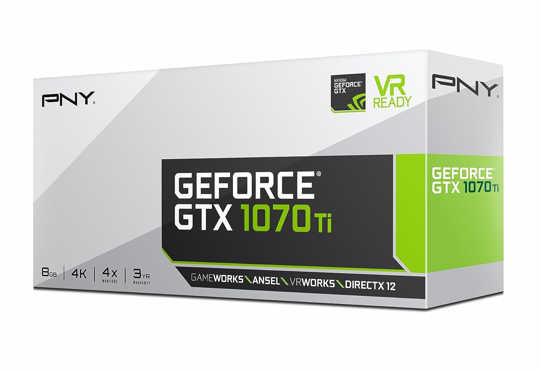 Amazon.com: PNY GeForce GTX 1070 Ti - Tarjeta gráfica ...