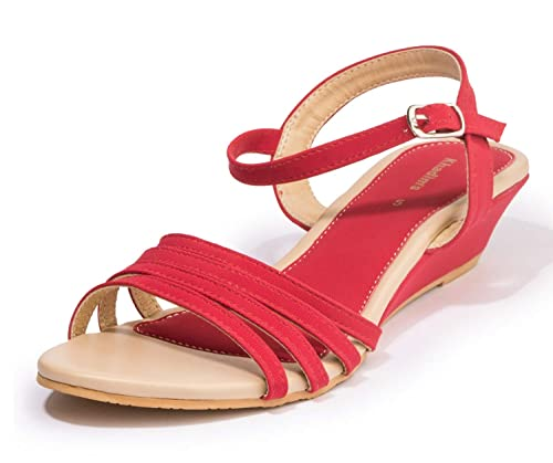 7fb3ca6d20b Khadims Women Casual Heel Sandal  Amazon.in  Shoes   Handbags