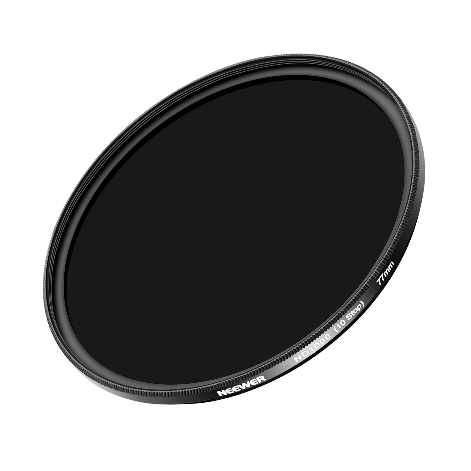 Neewer Slim 77mm Neutral Density ND 1000 Camera Lens Filter for Canon EOS(6D, 5D Mark III) DSLR Cameras, Nikon D600 DSLR Camer and Other Lens with 77mm Filter Thread Size by Neewer