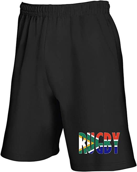 Speed – Pantalón Corto de chándal Negro TRUG0140 Rugby South ...