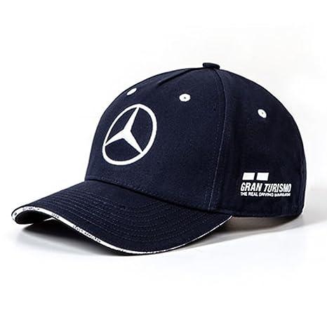 Mercedes AMG Petronas F1 Driver Lewis Hamilton Berretto Nero Ufficiale 2019