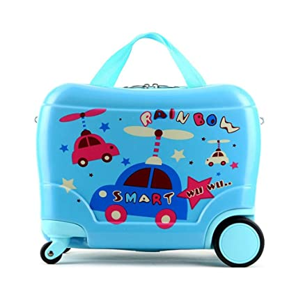 Amazon.com: Childrens Suitcases Pupils and Girls Cartoon ...