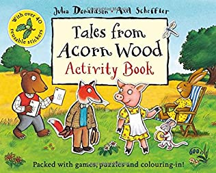 book cover of Tales From Acorn Wood Activity Book