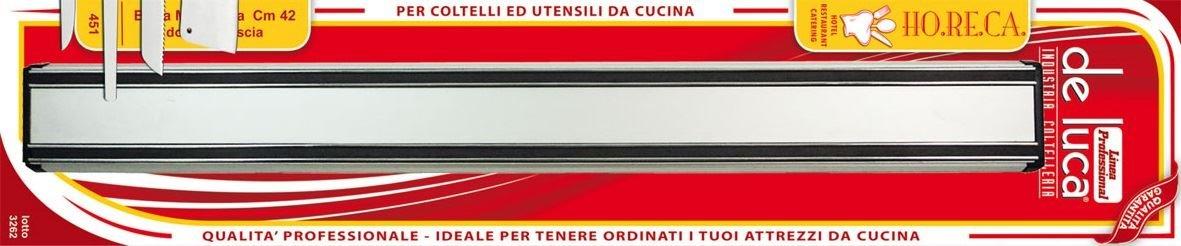 De Luca Barra Magnetica Per Coltelli cm 42