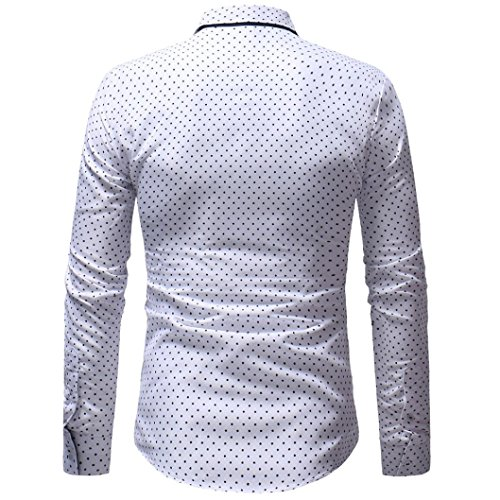 Manches Capuche Weiß Logo Tailleur Boutons Sweat 1 Longues À Homme Ujunaor Avec Col shirt ZY7zq7wt