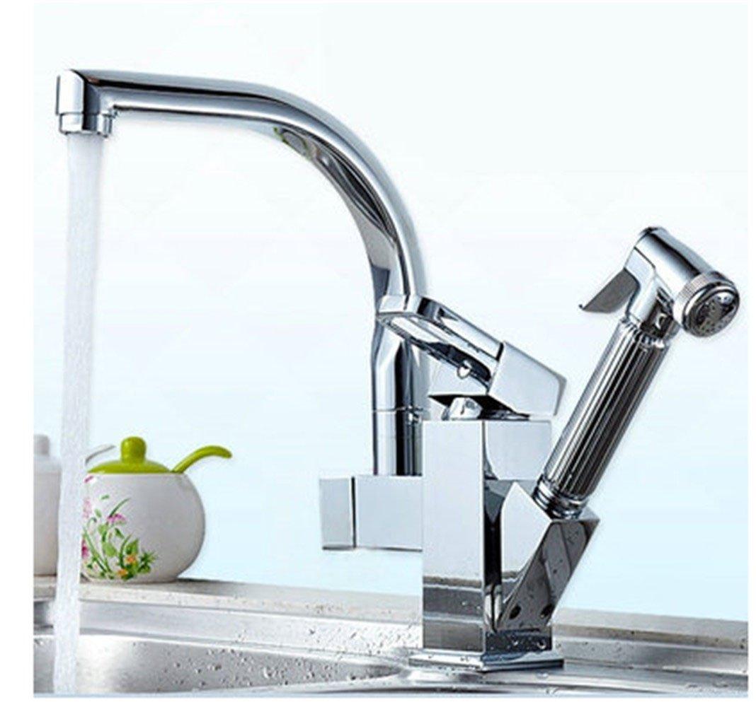 Continental Cu alle Küche Wasserhahn, Geschirrspülen pool Waschbecken Waschbecken Dusche mit heißem und kaltem Wasser, L