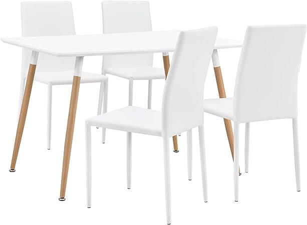 en.casa] Tavolo da Pranzo ModernoTavolo Cucina (120x70cm