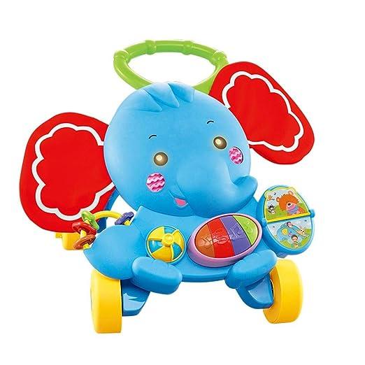 Blue-Yan Baby Learning Walker Trolley Juguete Multifuncional ...