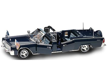 Amazon Com Yat Ming Scale 1 24 1961 Lincoln X 100 Kennedy Car