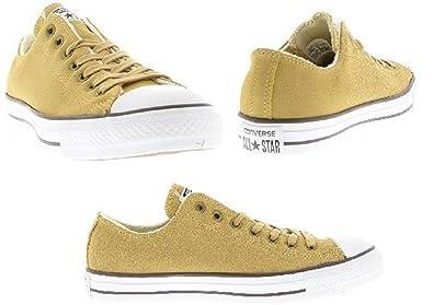 701264cb4f1 Converse daim Chuck Taylor All Star OX Chaussures pour homme - Noir - Noir  blanc