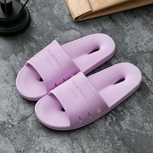 indoor slip slippers summer purple slippers with summer 38 anti fankou Slippers cool couples cool male bathroom women home lovely home hole cartoon 37 hole bath SxcqWWEXwn