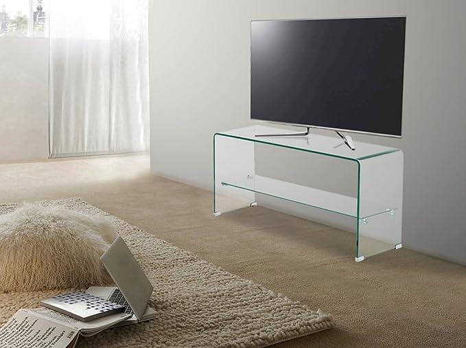 Tavolini In Vetro Porta Tv : Trendyitalia 10548 tavolino porta tv 42x40x80 cm: amazon.it: casa e