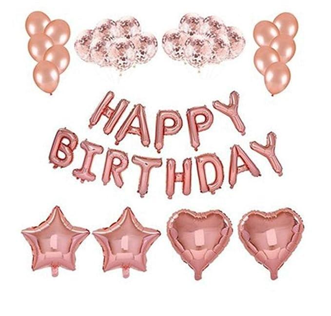 Conjunto de decoración con diseño de Globos para cumpleaños ...